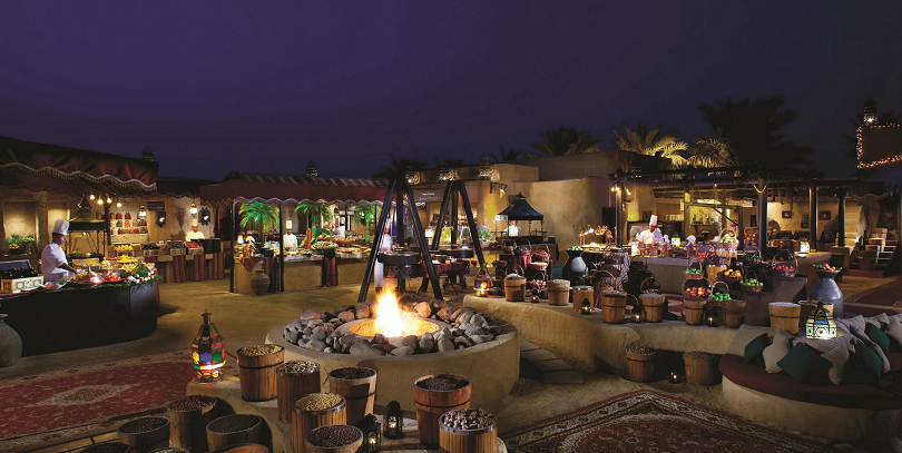 Live Your Summer Dream Bab Al Shams Al Hadeerah Desert Restaurant