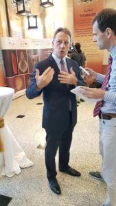 UAE Archaeological Treasures Exhibition - French Ambassador