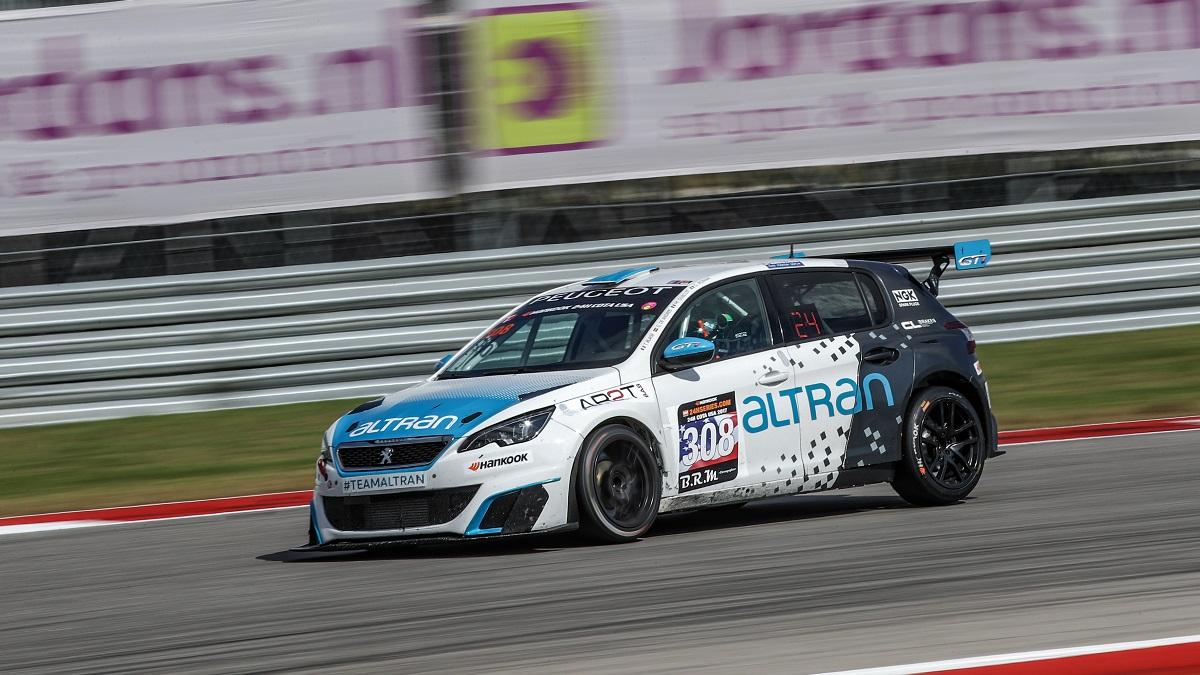 24H Dubai 2018 - Altran Peugeot - Dubai Autodrome