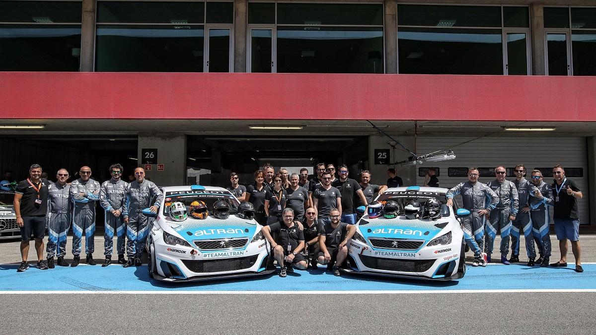 24H Dubai 2018 - Team Altran Peugeot - Dubai Autodrome
