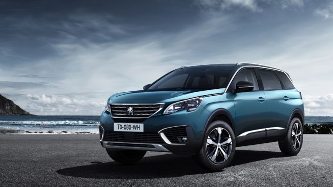 The all-new 2018 Peugeot 5008 SUV