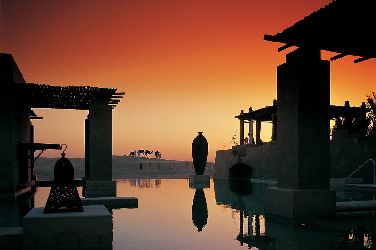 Bab Al Shams Desert Resort & Spa - Sunset at Pool - Year of the Dog