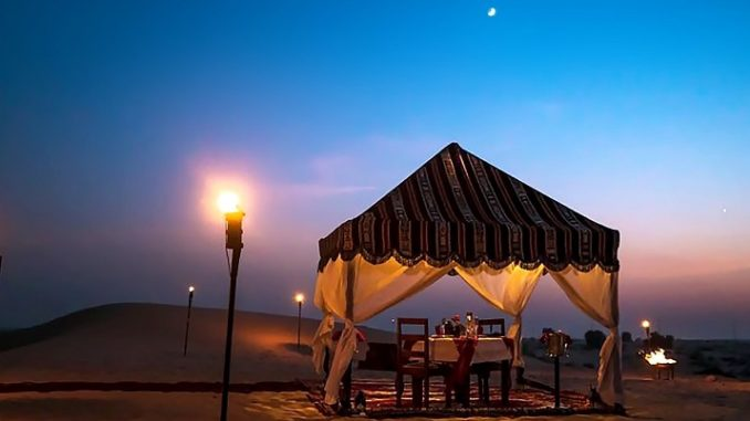 Bab Al Shams Valentine's Day
