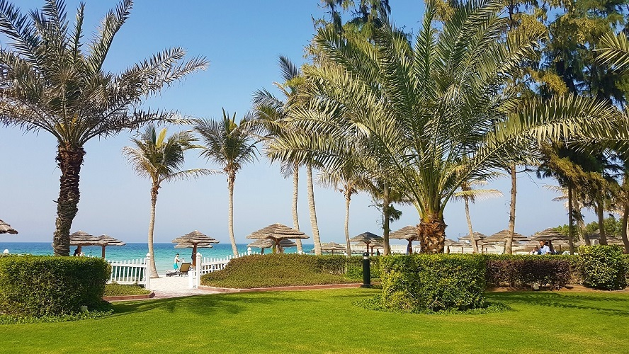 Celebrate Easter at Ajman Hotel - Palm Lawn and Beach