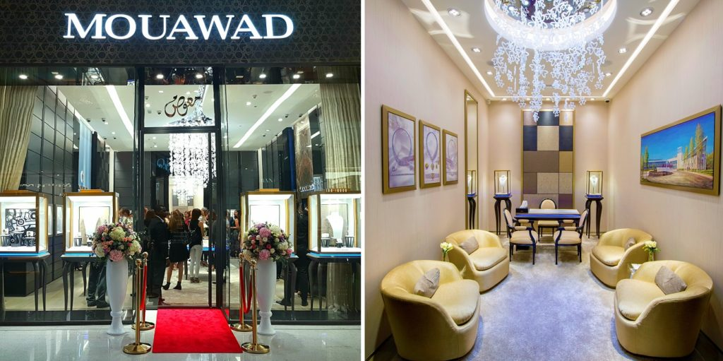 New Mouawad Boutique Reopening - Dubai Mall