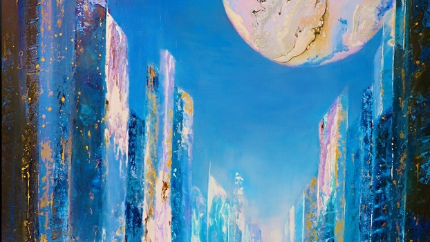 Once in a Blue Moon by Cathy Deniset