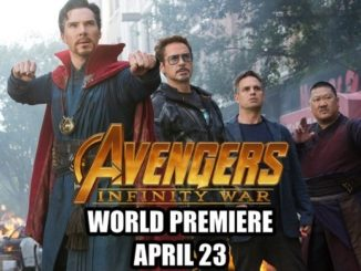 infinity war world premiere