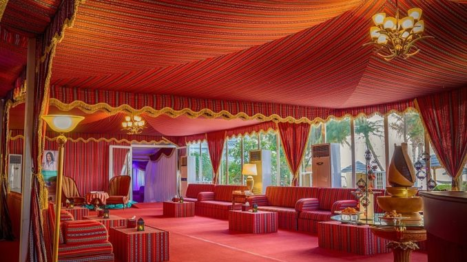 Ajman Hotel - Sea-View Ramadan Tent