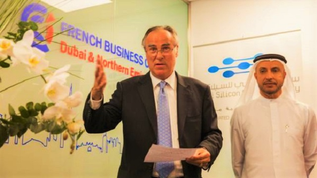 Business Centre by FBC - Inauguration - Bruno de Reneville and Dr Mohammed Al Zarooni