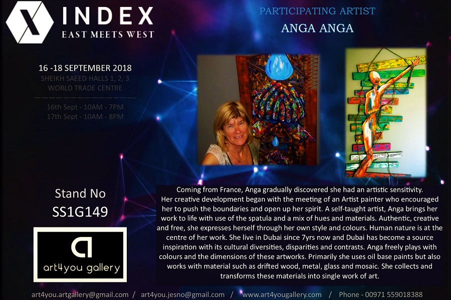 INDEX 2018 - Anga - Art4you Gallery