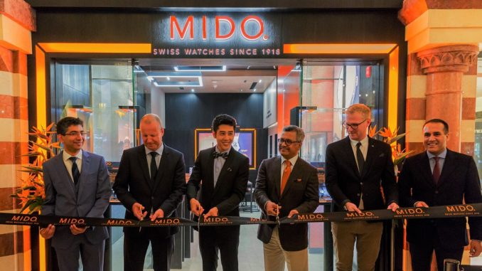 Swiss Watchmaker Mido Dubai Mall