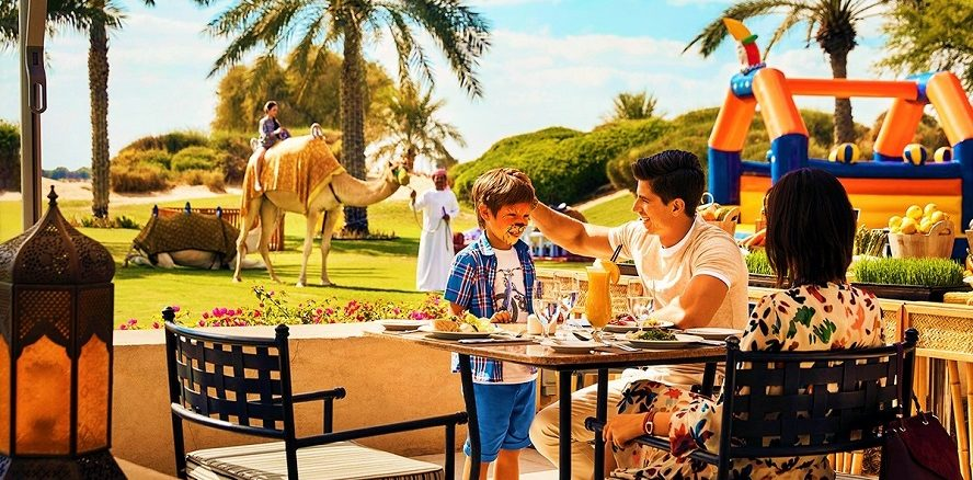 Garden Brunch Bab Al Shams Desert Resort & Spa