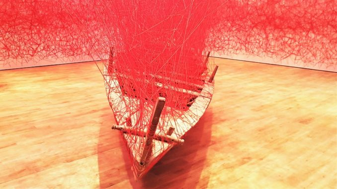 Jameel Arts Centre Dubai - Grand Opening - Artist's Rooms - Chiharu Shiota (2018)