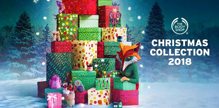 The Body Shop Christmas Collection 2018