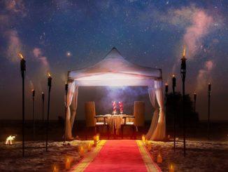 Bab Al Shams Valentine's Day Countdown