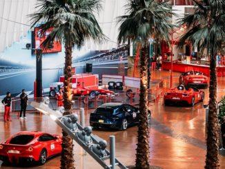 100 Ferraris - Ferrari World Abu Dhabi
