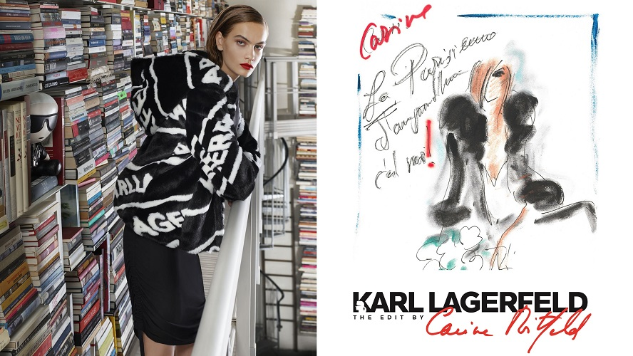 Karl Lagerfeld The Edit by Carine Roitfeld