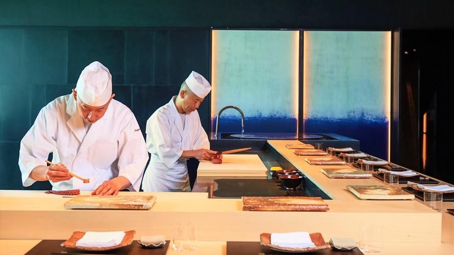 BVLGARI Resort Dubai - Hoseki Chefs - Japanese Restaurant
