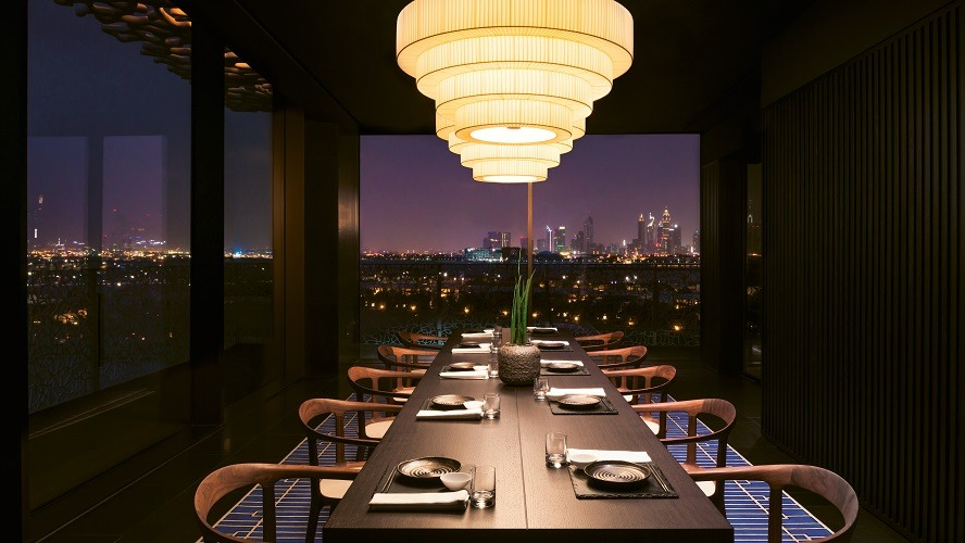 BVLGARI Resort Dubai - Hoseki Private Dining Room 12 seats - Japanese Restaurant