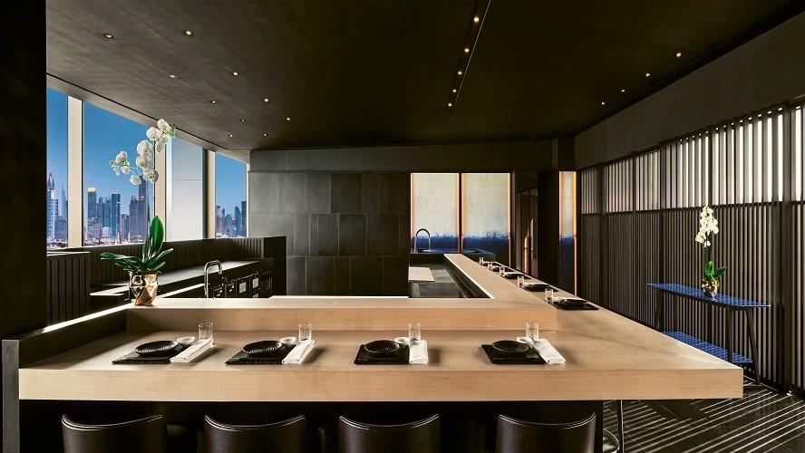 BVLGARI Resort Dubai - Hoseki Counter by Day - Japanese Restaurant