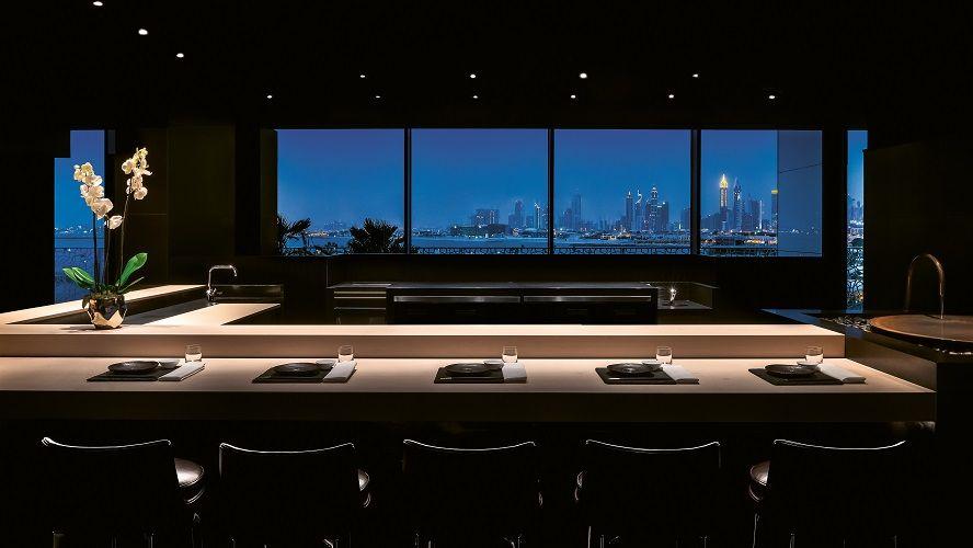 BVLGARI Resort Dubai - Hoseki Counter by Night - Japanese Restaurant