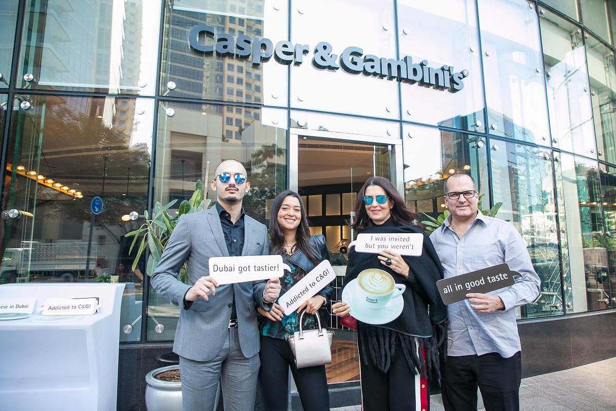 Casper & Gambini's Grand Opening