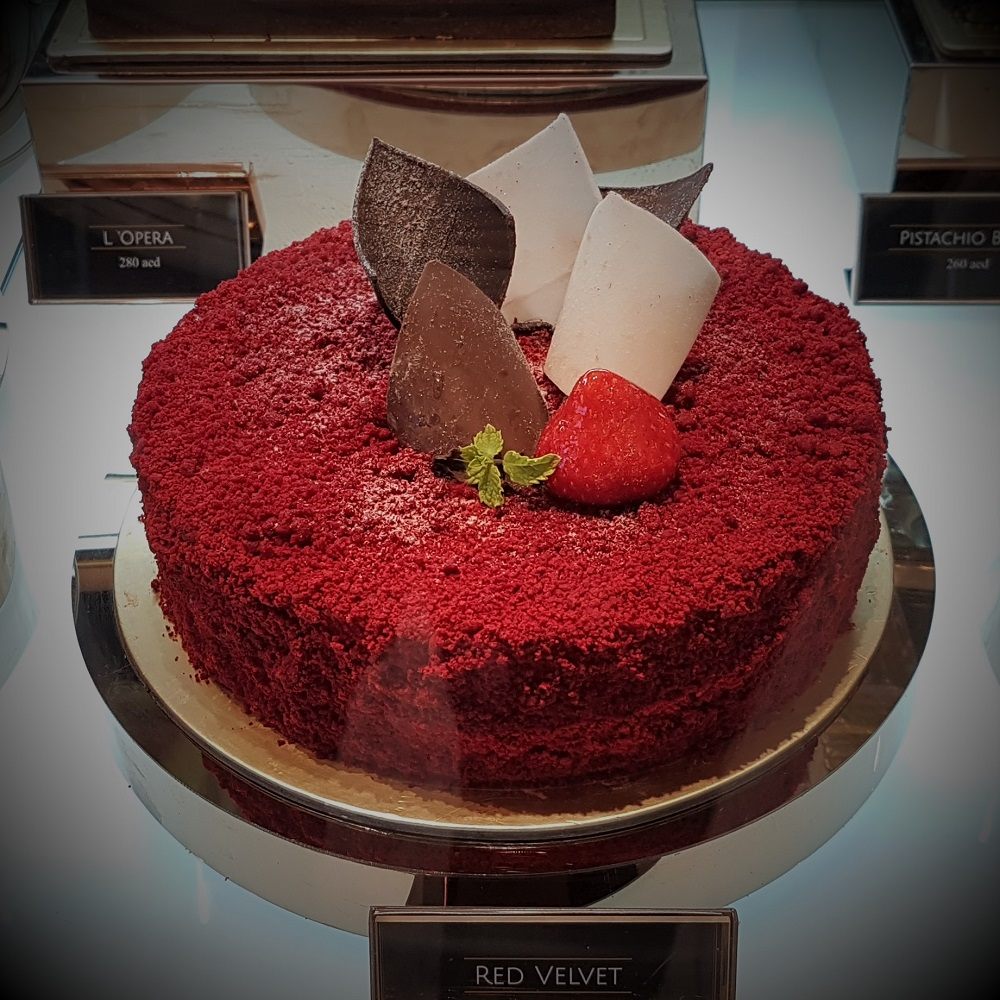 Chateau Blanc - Cakes - Red Velvet