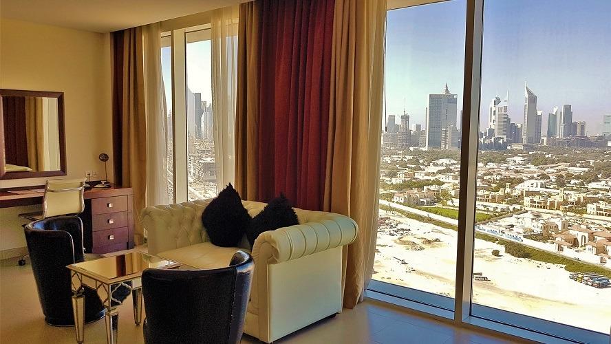 Dubai Skyline Views - M Hotel Downtown by Millennium