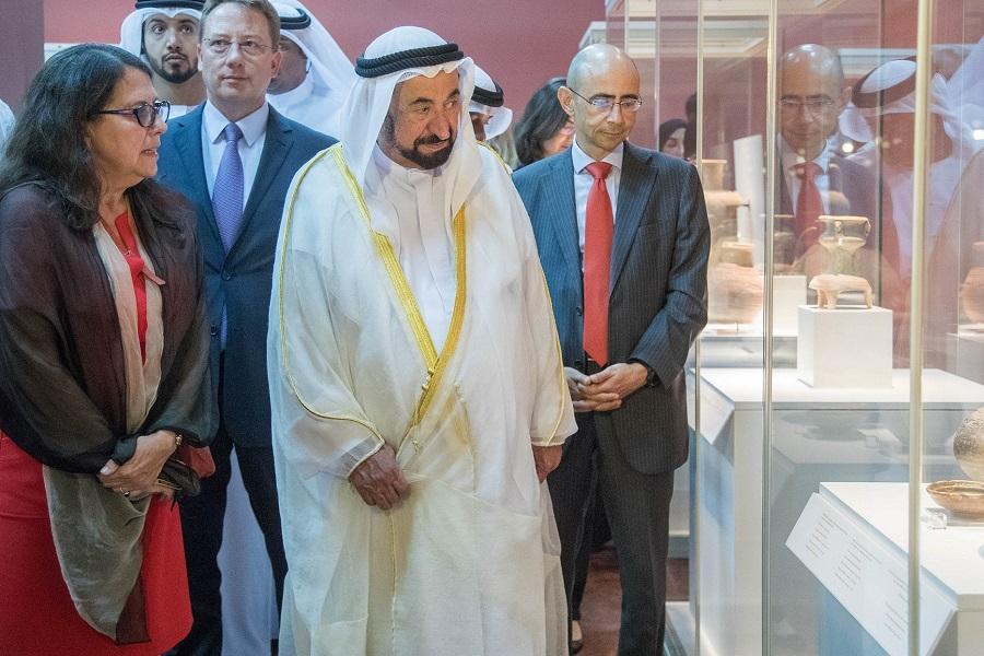 UAE Archaeological Exhibition - Inauguration Ceremony (2)
