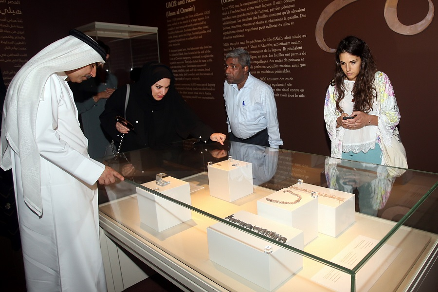 UAE Archaeological Exhibition - Inauguration Ceremony (5)